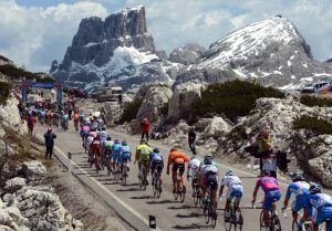 Epic scenes from the Giro