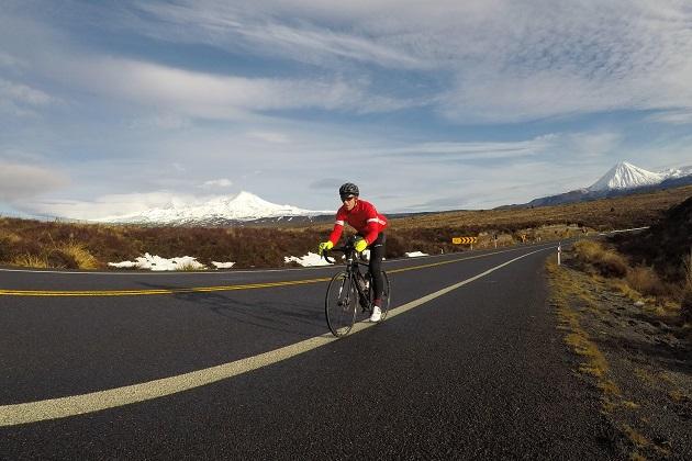 bike riding through new zealand