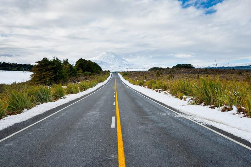 Riding through NZ in winter