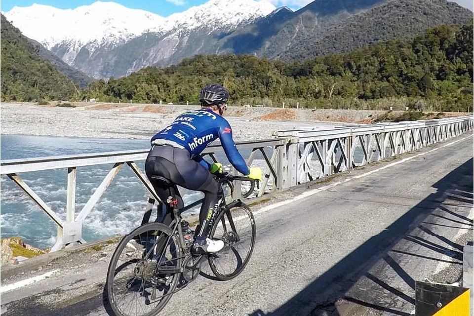 Bicycle ride through New Zealand