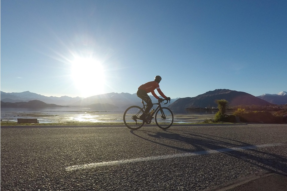 Riding from Wanaka to Bluff in one day