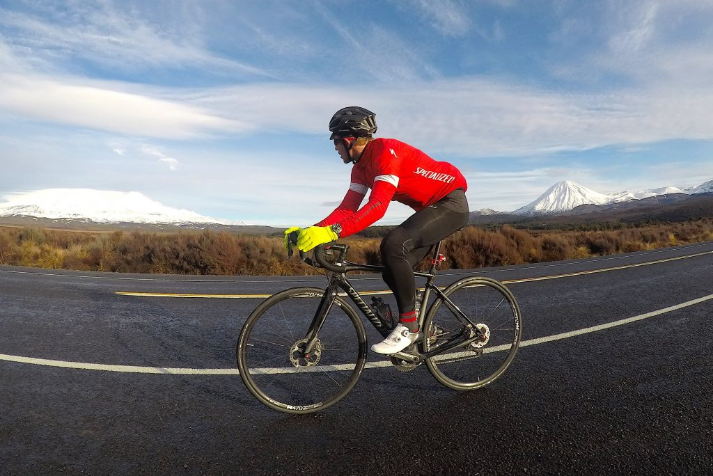 cycling the length of new zealand