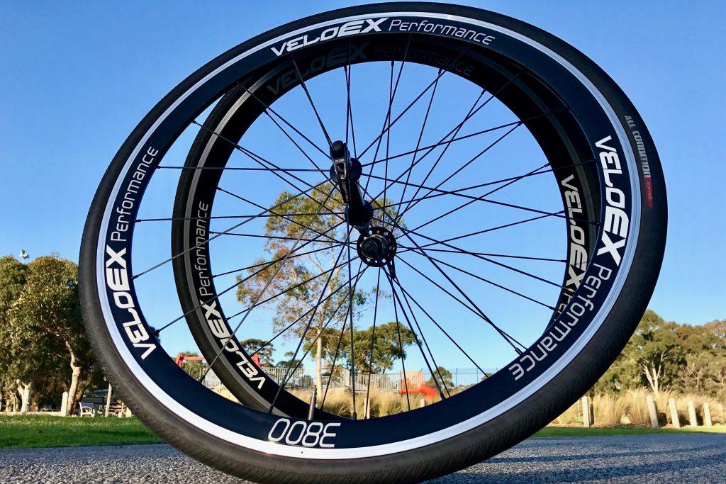Veloex alloy clincher road wheels performance
