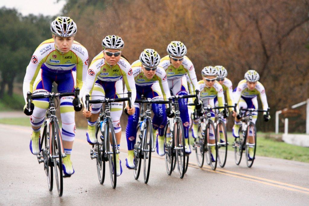 Monique Hanley Cyclist