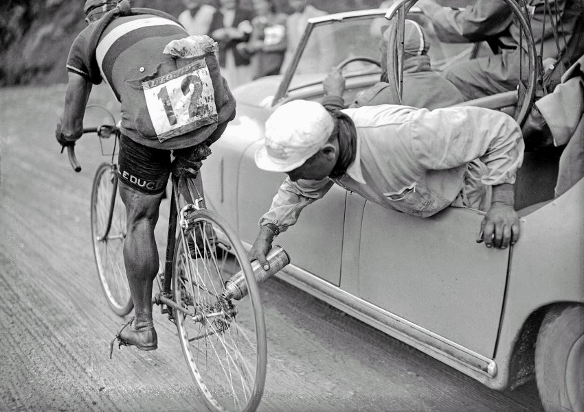tour de france 1937 chain oil