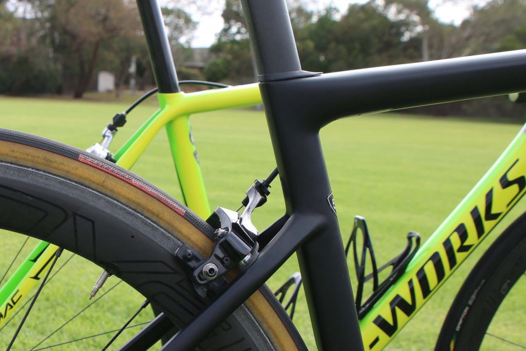 2018 specialized s-works tarmac seat stays
