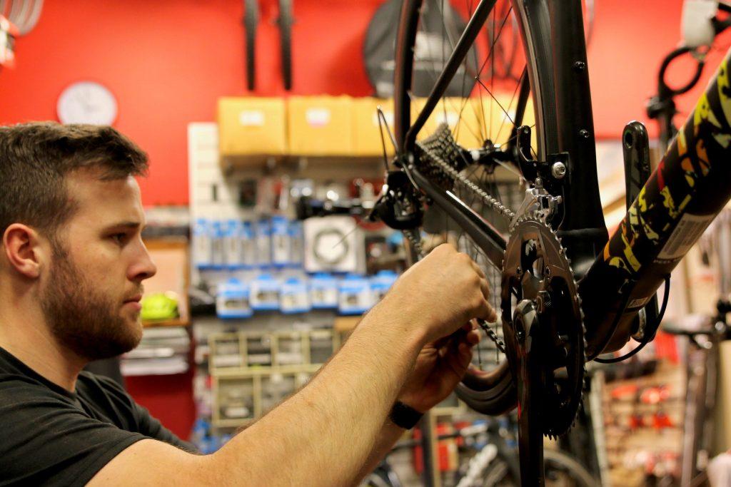 Hampton Cycles bike building