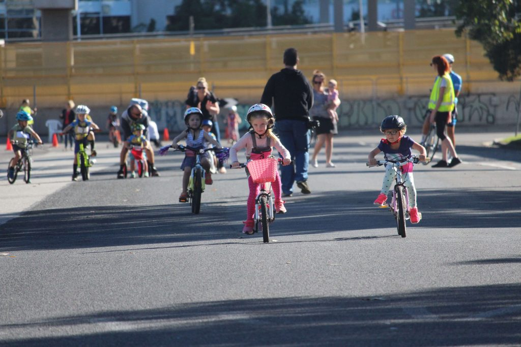 Kids race at the SKCC champs