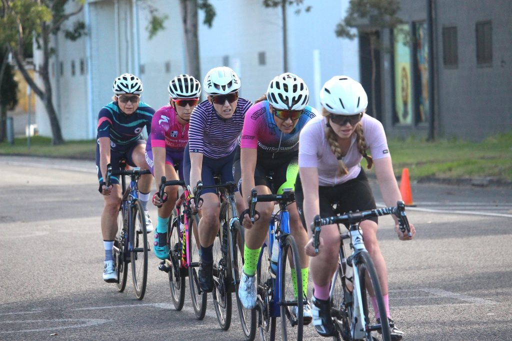 Womens racing at SKCC