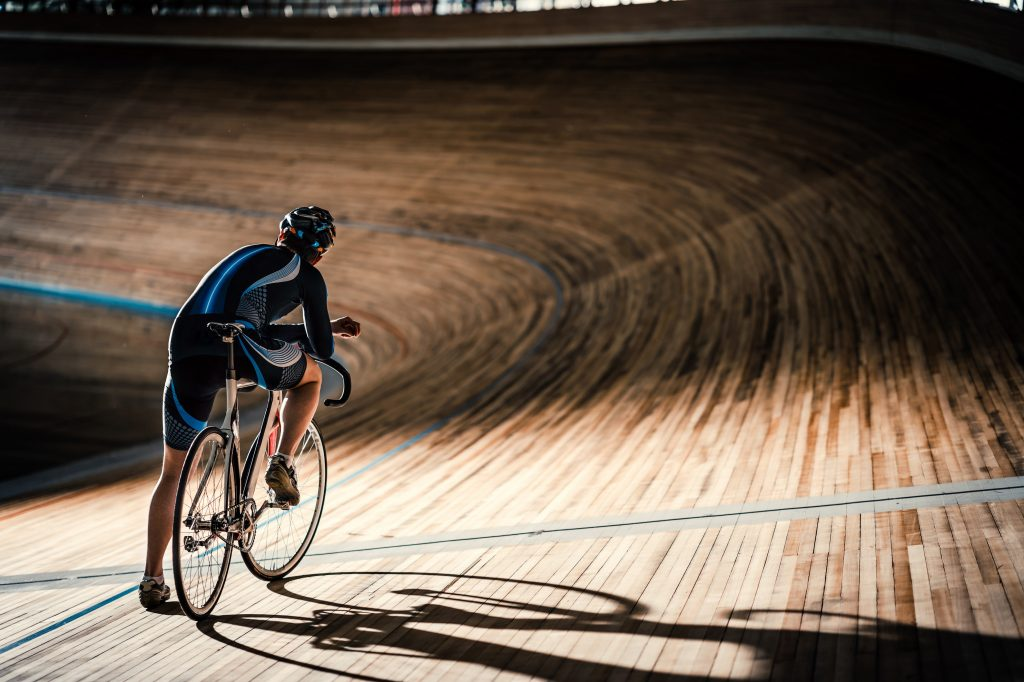 track cycling velodrome