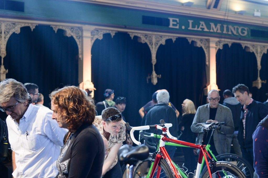 Handmade bicycle show