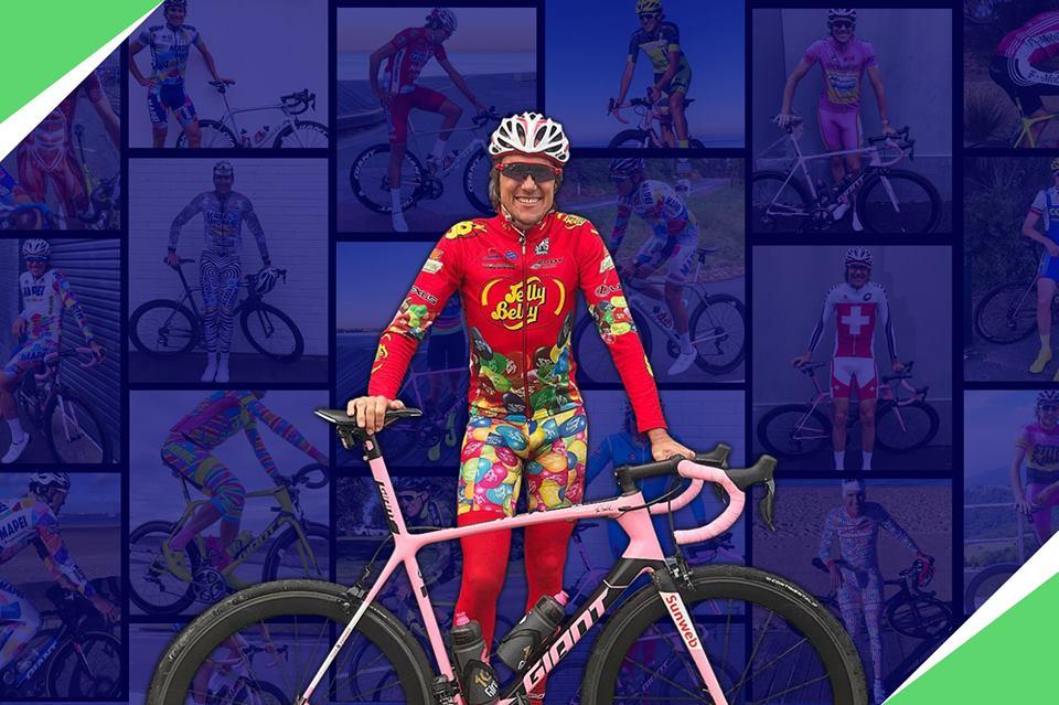 Lee Turner cycling kits