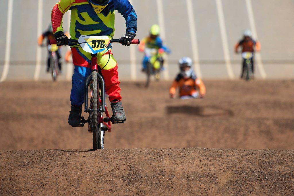 BMX Bikes Racing