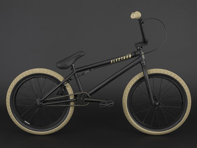 FLY-BIKES-ELECTRON FLAT BLACK BMX