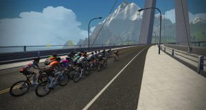 Stage 2 Virtual Tour de France Heading for the Hills