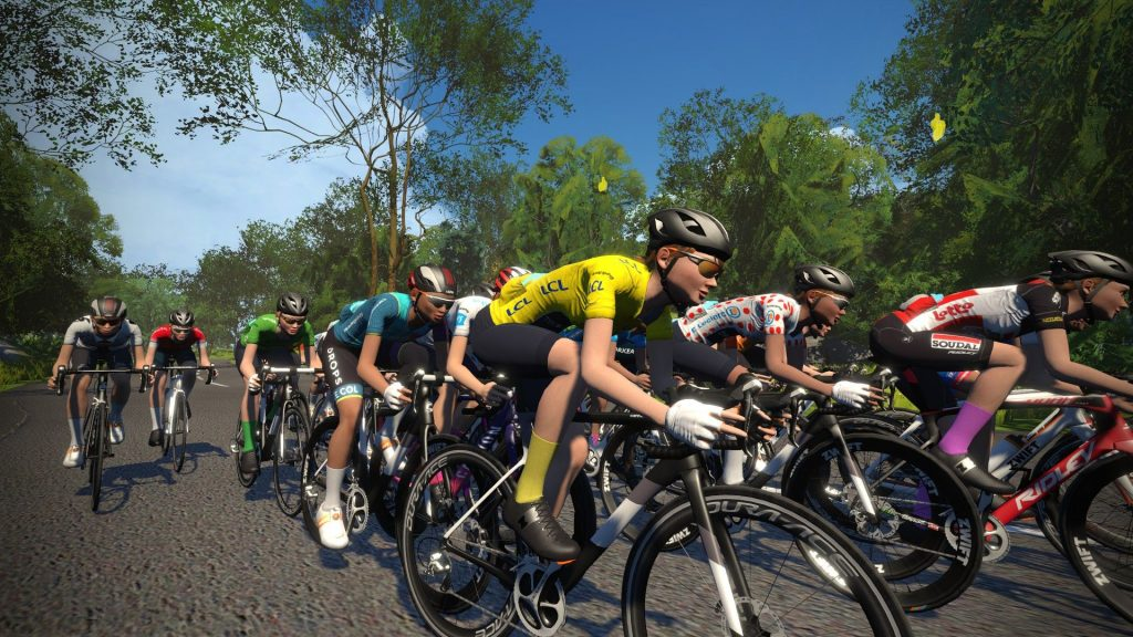 men's women's professional races Zwift Tour de France 11th July 2020