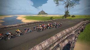 Zwift Tour de France Race 3 Image 2 men's women's professional races