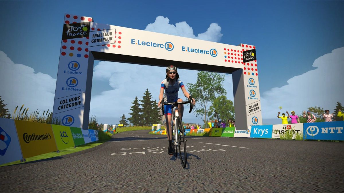 Zwift virtual Tour