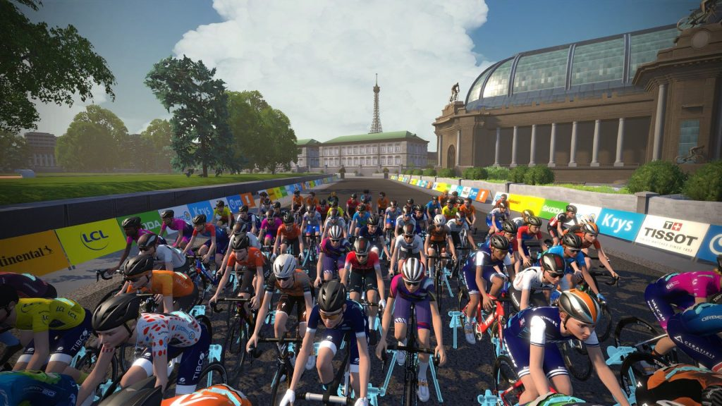 Womens Peleton Stage 6 Zwift