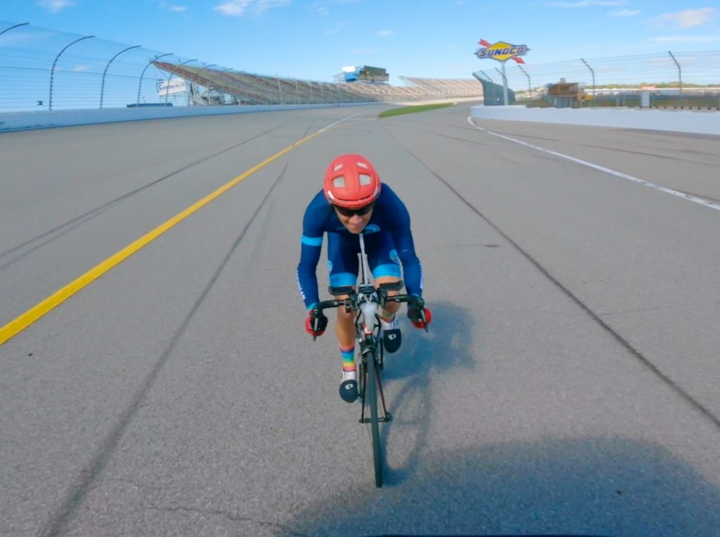 World Record for Fastest 100 Miles (160.9 km) by Bicycle