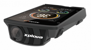 Xplova Front facing camera from cycling GPS